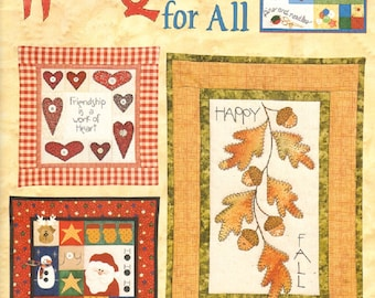 Wall Quilts for All Leisure Arts Quilt Book designs by Chris Malone
