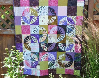 Many Colors Quilted Wallhanging