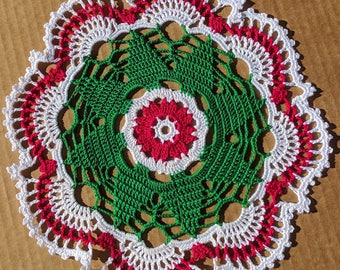 Christmas Tree Doily - **NEW** - Lone Star Lace