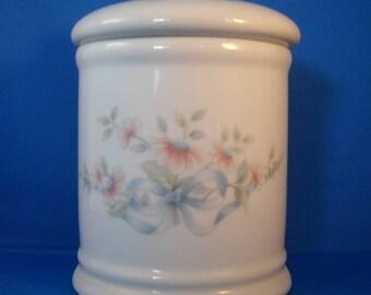 Princess House Porcelain Cannister