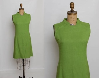 25% OFF 60s spring green dress | vintage 1960s sheath