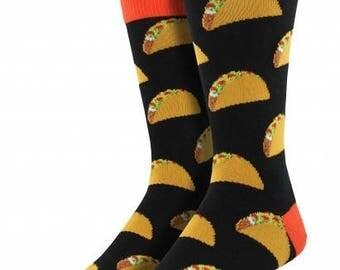 Mens Taco Socks // king size XL