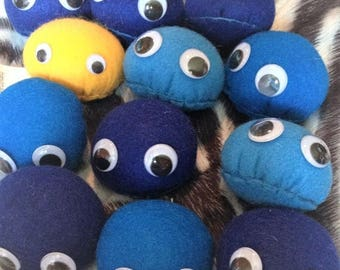 ON SALE Buy 4 Get 1 FREE Pebble Plushies (Baby Pet Rocks) (Choose Color) - Great party gift or stocking stuffer!