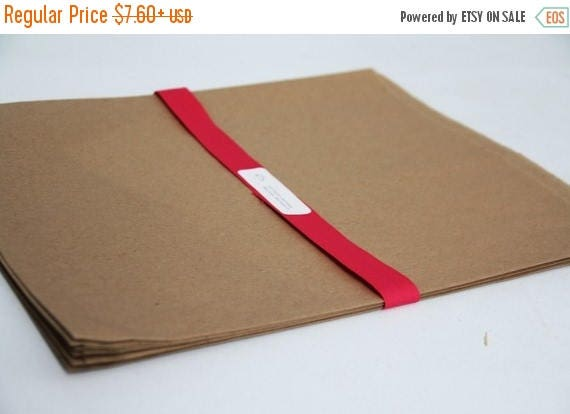 ON SALE Kraft Paper Bags 12 x 15 Lot of 25    Rustic Wedding Favor Bags, Candy Bags, Cookie Bags, Recycled Merchandise Bags