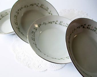 Vintage Dessert Bowls Elegance by Sheffield China Set of Four