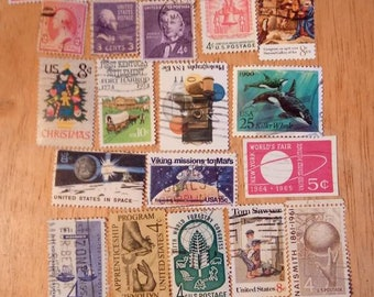 25 U.S. Stamps Lot used