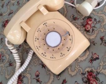 Just Peachy! Cream Colored Telephone