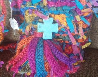 Sassy Hand Knit Bag