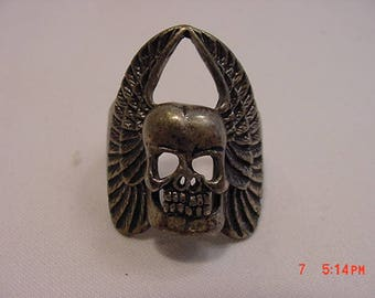 Vintage Skull & Wings Men's Ring  17 - 783