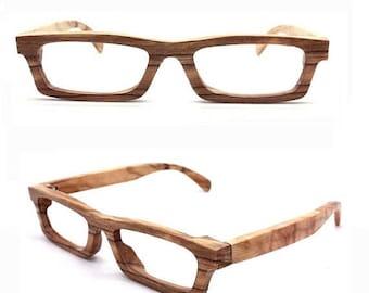 20% off SUMMER SALE LOVE-Wood handmade oliver wood eyeglasses glasses Takemoto
