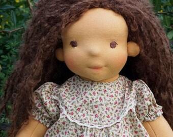 "Waldorf Doll Delphine, 15"" OOAK doll"