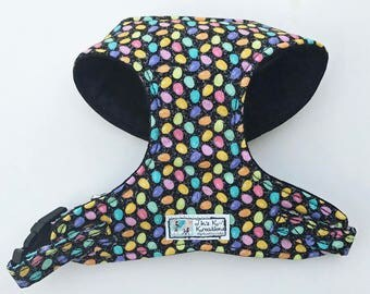 Sparkle Easter Eggs Comfort Soft Dog Harness - Made to Order -