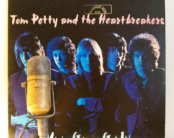 "ON SALE Tom Petty Vinyl Record LP 1970s Rock ""You're Gonna Get It"" (Hard To Find Orig. 1978 Shelter  'Half Moon' Label w/ Abc Dis. - ""I Need"