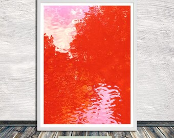 Candy water print, abstract printable wall art, poster, printable art, Instant Digital Download