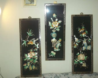 Vintages  panels three pieces