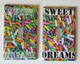 Sweet dreams lightswitch cover