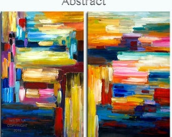 sale ORIGINAL abstract PAINTING texture art Large acrylic painting 48 X 36 Gallery Wrap Fine Art By Tim Lam