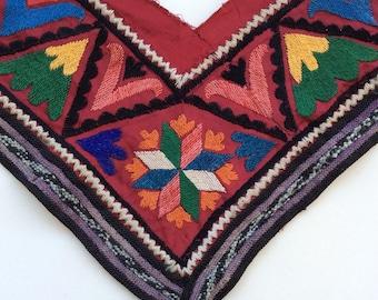 VINTAGE SUZANI TRIM saye gosh gosha asian textile costuming tribal belly dance