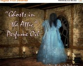 15% off Ghosts in the Attic PERFUME Oil: Red apples, autumn wind, Halloween candies, antique wood, HALLOWEEN perfume, autumn fragrance