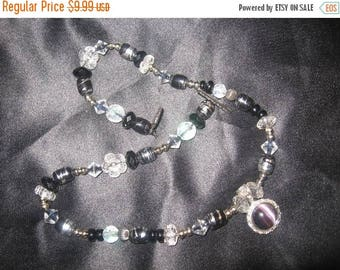 25% Off Sale Romantic Vintage Bead Choker Necklace/ 18 INCHES