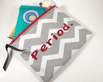 Tampon Case, Tampon Holder,  Sanitary Pad Pouch, Period Bag