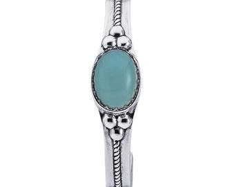 Turquoise or black onyx cuff bracelet in 925 Sterling Silver, you choose....