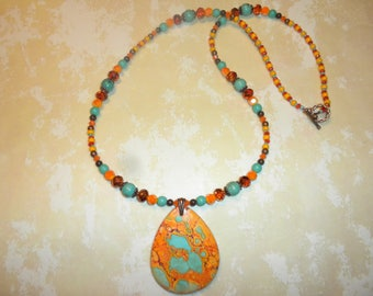 One Of A Kind Southwest Turquoise Sunset