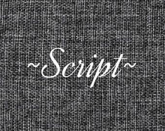 Script for Photo Boards