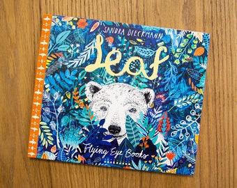 LEAF by Sandra Dieckmann   Flying Eye Books   Signed Copy