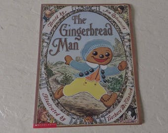 Children's Book, The Gingerbread Man, Retold By Jim Aylesworth, Softcover