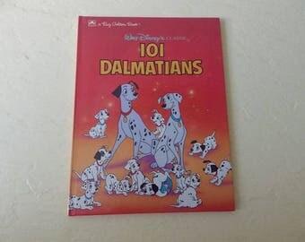 Walt Disney's Classic 101 Dalmatians, Hardcover, Like New, 1991