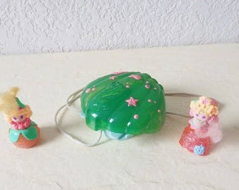 Reserved for Christine Polka Dot Princess and Flower Girl Bubblins by Hasbro, 1990-91, RARE