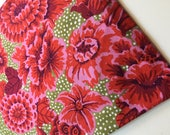 Kaffe Fassett Floral with Dots Fabric, GP 02, Early, Rare, OOP, VHTF, Fat Quarter
