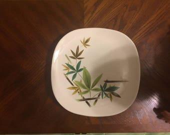 Salem China Flair Woodhue Dinner Plates x5