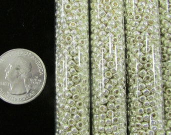 Silver Seed Beads size 6/0