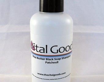ON SALE Dreadlock shampoo Patchouli Shea Butter Black Soap Shampoo 4oz