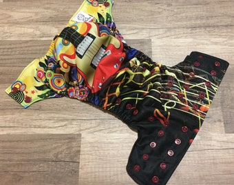 Rock Out AI2/Pocket One Size Cloth Diaper