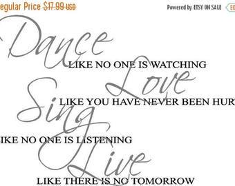 ON SALE Dance like nobody is watching...