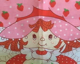 Strawberry Shortcake learn to sew doll