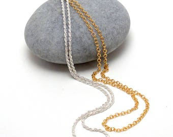 Add on - Chains - Gold-filled and Sterling Silver