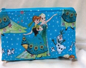 Anna and Elsa Makeup Bag