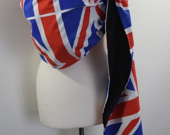 Baby Ring Sling Carrier / Sling / Carrier / Reversible / Unpadded /Olympics GB Edition / Cotton / Handmade / Made in UK
