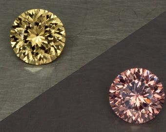 Wandanyi Color Change Garnet Natural Untreated Phenomenal Green to Pink Round Brilliant Cut Loose Gemstone