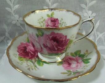 Royal Albert  Bone China Teacup & Saucer