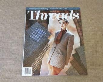 Threads Magazine October November 1991 Back Issue Number 37