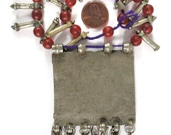 Ethiopian Silver Metal Engagement Pendant African 109337
