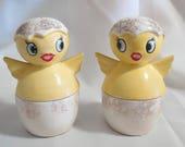 Vintage  Holt Howard Baby Chicken Chicks Novelty Salt and Pepper Shakers