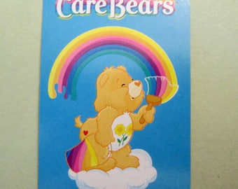 Vintage CARE BEARS Miniature Junior Picture Playing Cards Game