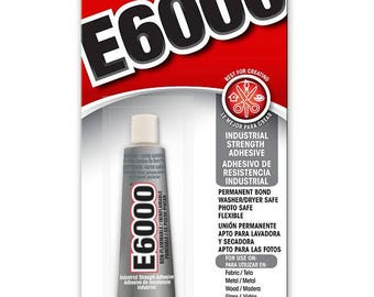 E6000 Adhesive .5 oz (1/2 ounce) tube