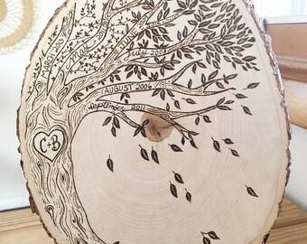 Family Tree Plaque